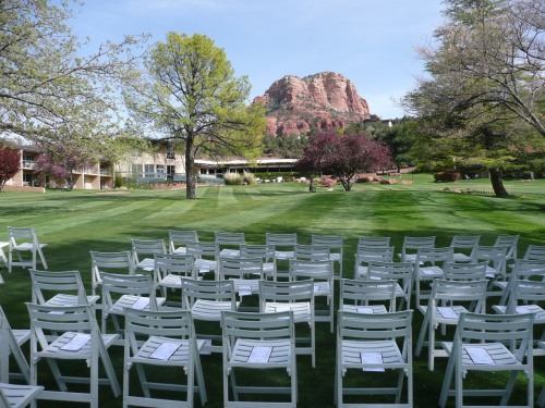 Ceremony Location at Poco Diablo Resort