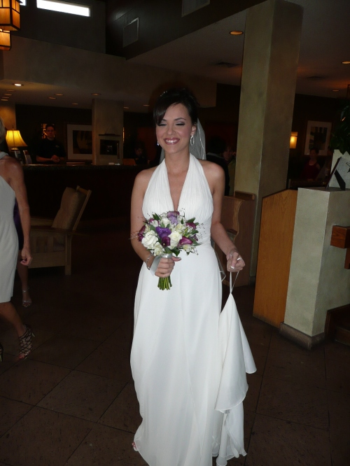 Our stunning bride Aileen