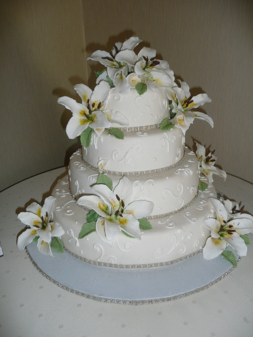 Wedding Cake by Donna Joy - Sedona Sweet Arts