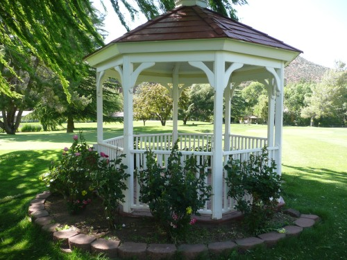 Golf Course Gazebo at Poco Diablo Resort