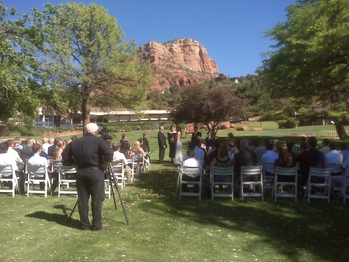 Ceremony of Tracy and Brock - Great Red Rock Views