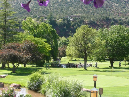 Poco Diablo Golf Course - a truly lovely setting for a wedding