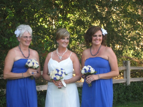 Robin and her Bridesmaids