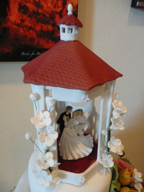 Golf Course Gazebo Topper Created by Donna Joy, Sedona Sweet Arts