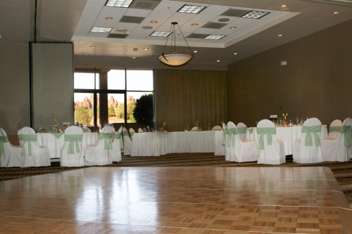 Room with a View - The Poco Diablo Ballroom. Photo by Love My Life Photography