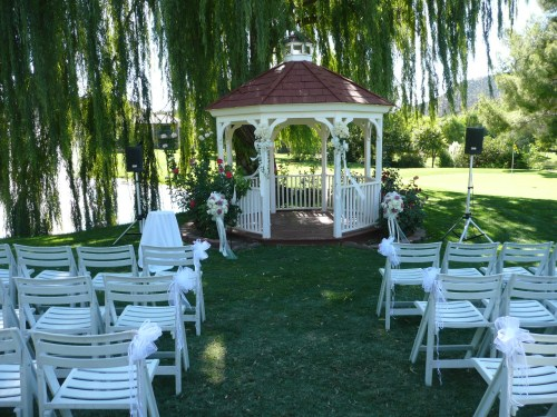 Wedding Gazebo on the charming Poco Diablo Golf Course