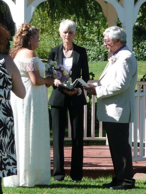 Taye and Ron's Gazebo Ceremony