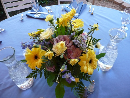 Lovely Floral Centerpieces Created by Bliss Extraordinary Floral
