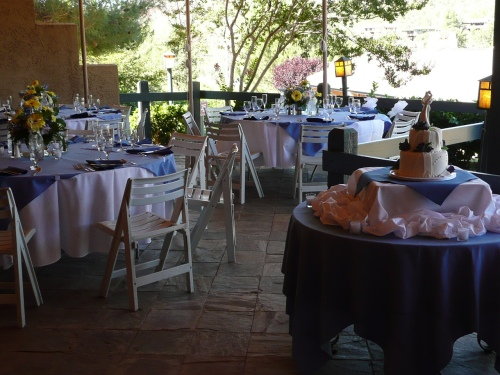 Wedding Brunch on the Canopy Patio