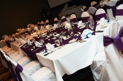 Elegant Reception in the Poco Diablo Ballroom - Photo by: www.bridesforbrides.com