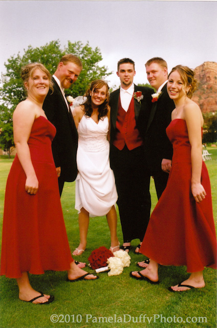 Bridal Party Fun - Photo by Pamela Duffy