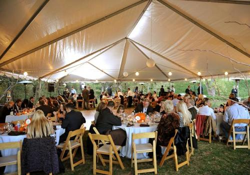 Wedding Tent Provided by Verve Events and Tents