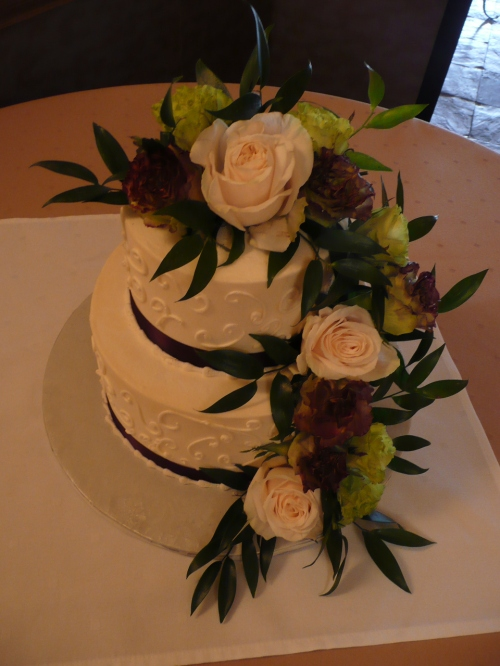 Wedding Cake created by Donna Joy, Sedona Sweet Arts