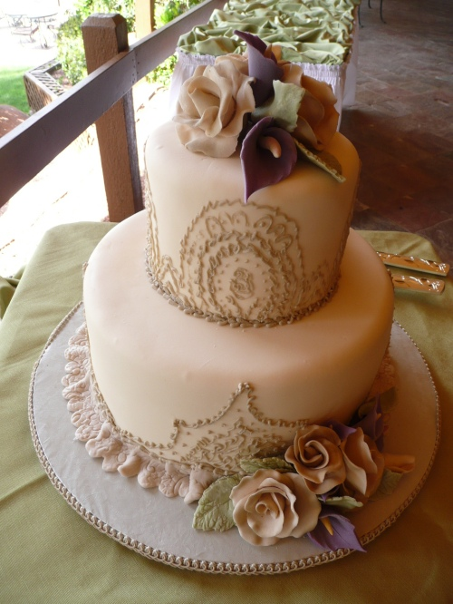 The Amazing Wedding Cake Created by Donna Joy, Sedona Sweet Arts
