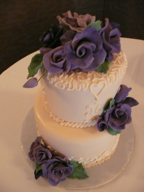 Victoria and Scott's Wedding Cake