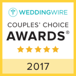 WeddingWire Couple's Choice Award 2017