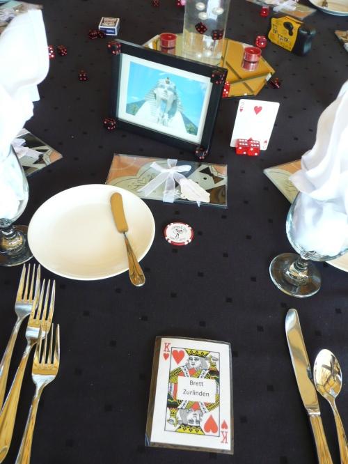 Las Vegas Theme - The Luxor Table