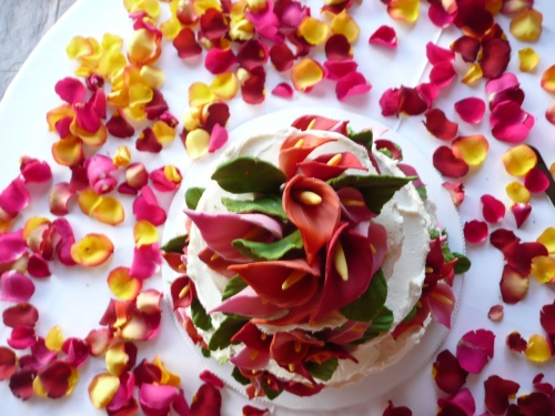 Gluten Free Wedding Cake Created by Donna Joy, Sedona Sweet Arts