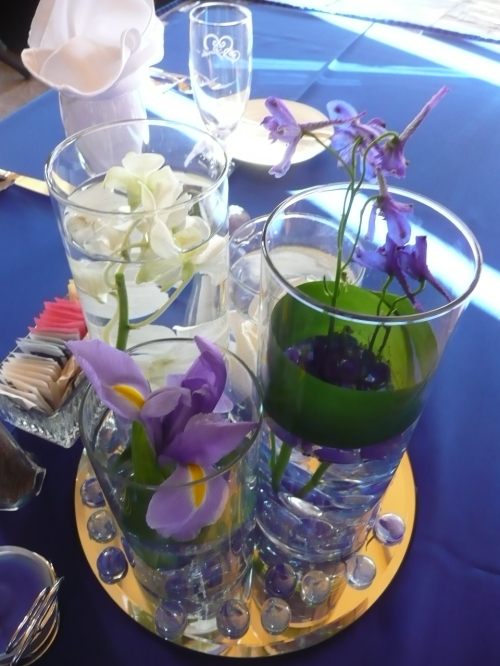 Colorful Centerpieces by Mountain High Flowers