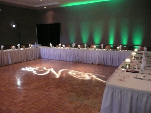 Personalized DJ Lighting in Poco Diablo Ballroom