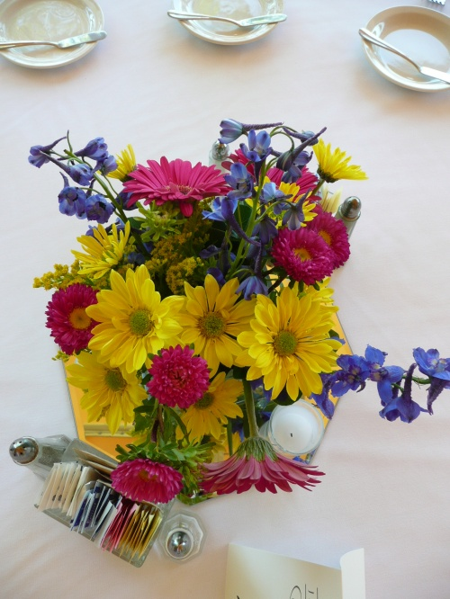 Lovely Floral Centerpieces by Mountain High Flowers