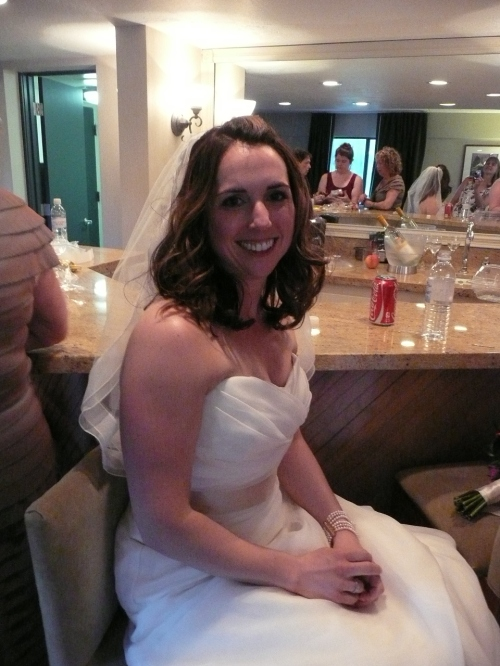 Our lovely bride Rachel