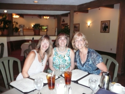 Janise Witt Photographer (left) and Kate Freeman, Dream Weddings of Sedona (right) joined by our Catering Manager
