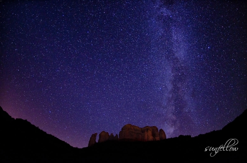 Sedona Night Skies - By David Sunfellow Photography