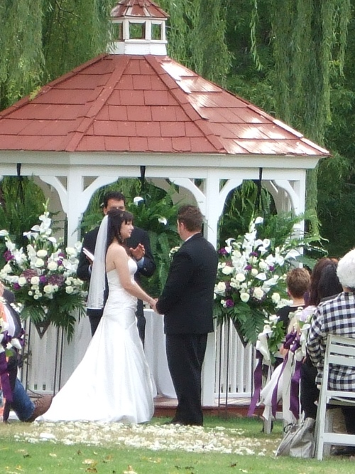Trisha and Tanner's Lovely Wedding Ceremony
