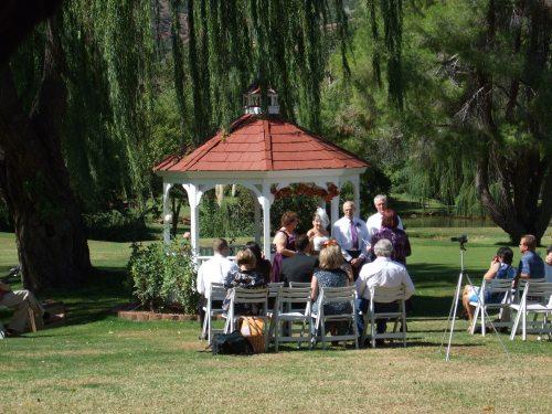 Nick and Claudia's Intimate Wedding Ceremony