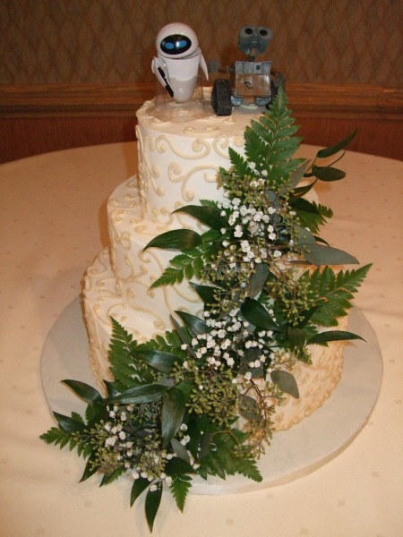 The Lovely Butter Cream Wedding Cake Made by Donna Joy, Sedona Sweet Arts