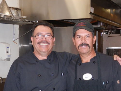 Chef Felipe with Sylvester