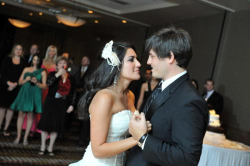 First wedding dance by Eric and Parisa.