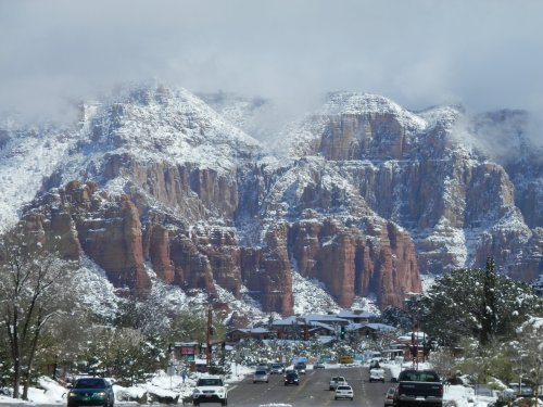 Winter Wonderland in Sedona