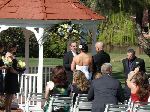 Intimate Gazebo Ceremony