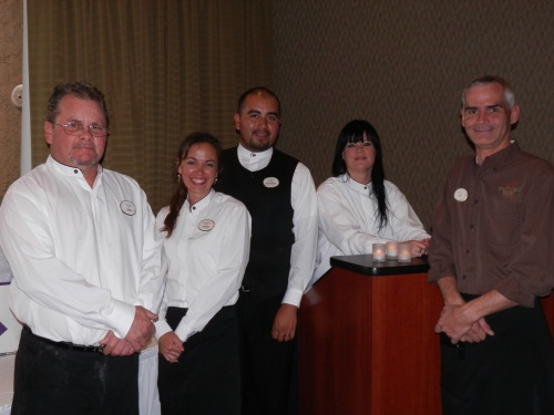 Staff at Poco Diablo Resort