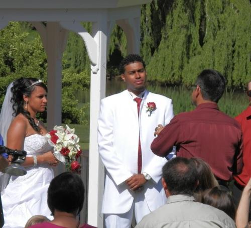 Pastor Frank Performed Ceremony