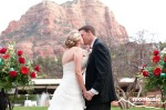 Lovely Red Rock Views from Ceremony Site - Montvale Photography