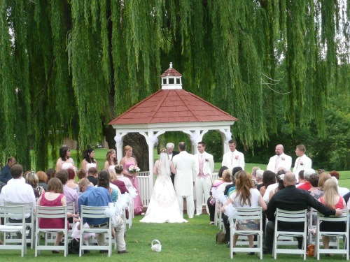 Wedding at the Gazebo