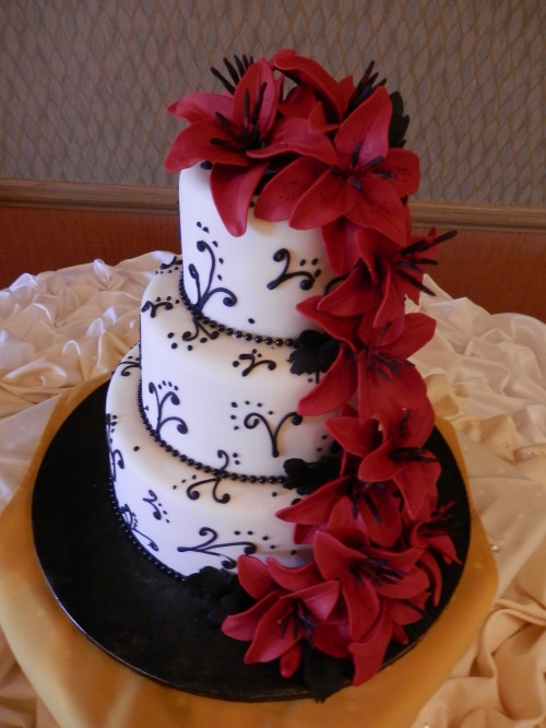 The Spectacular Wedding Cake Created by Pastry Chef and Sugar Artist Donna Joy, Sedona Sweet Arts