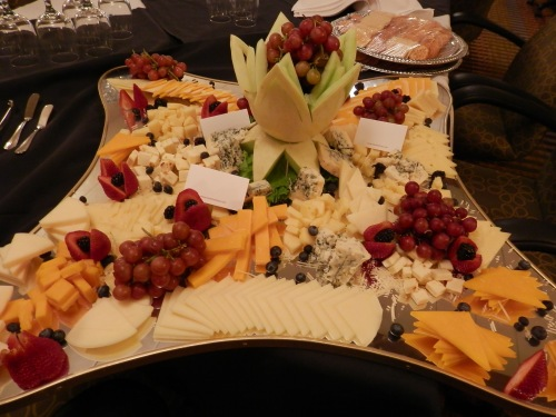 Chef Felipe's Fruit and Cheese Display