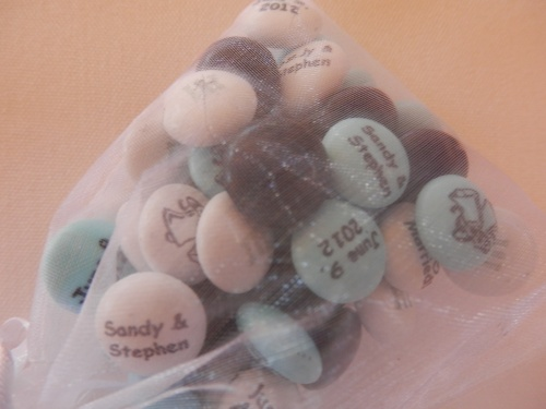 Wedding Favors - Personalized M&M's
