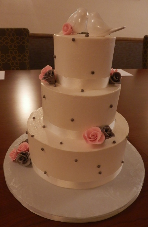 Cassidy and Adam's Wedding Cake by Donna Joy, Sedona Sweet Arts