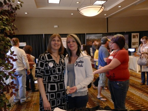 Cassi and Jill at the Sedona Bridal Fair