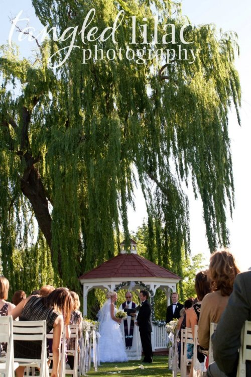 Gazebo Wedding Ceremony - Jack and Joanne
