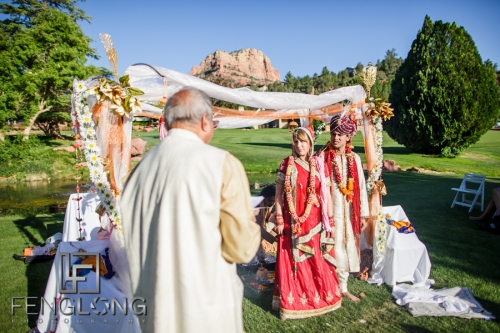 Ashley and Gaurav's Wedding Ceremony