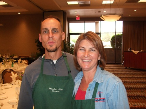 Kim Sutherland, Owner of Mountain High Flower with Adam