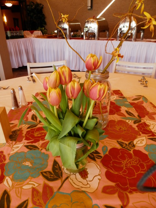 Lovely Centerpieces by Mountain High Flowers