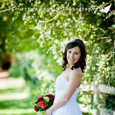 Our Lovely Bride Diane - Photo by Courtney Lively Photography