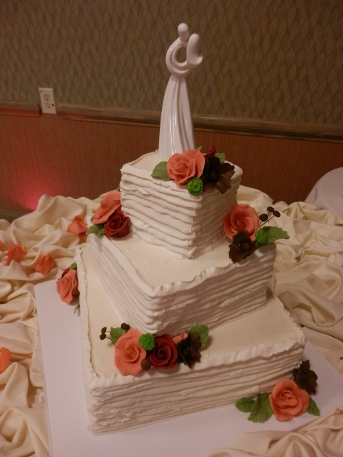 The Beautiful Wedding Cake Created by Donna Joy, Sedona Sweet Arts
